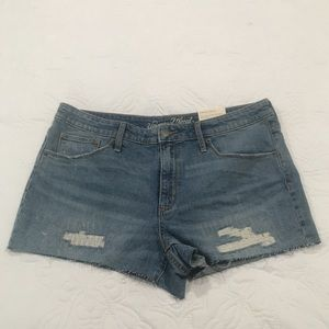 High Rise Shortie Shorts from Target